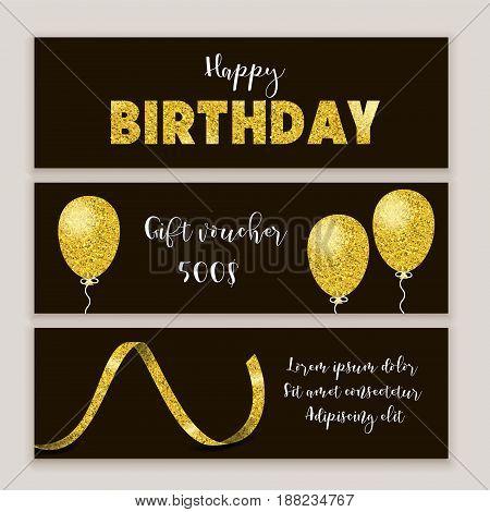 Birthday Certificate Design