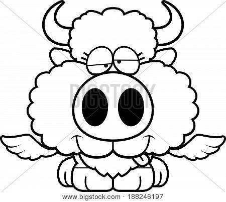 Cartoon Goofy Buffalo Wings