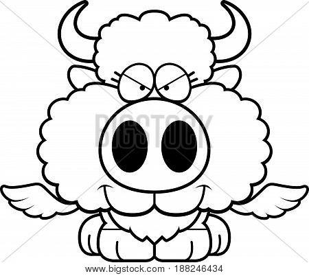 Cartoon Sly Buffalo Wings