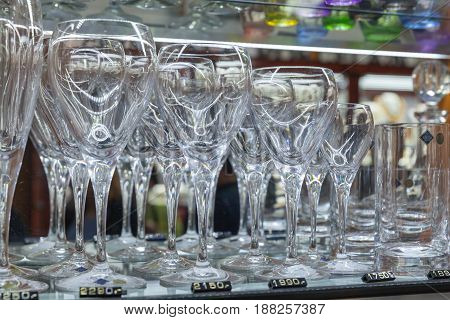 Glasses From Bohemian Glass