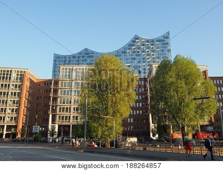 Elbphilharmonie Concert Hall In Hamburg
