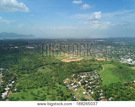 Managua City Cityscape