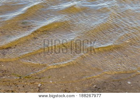 Ripples in the water as a background