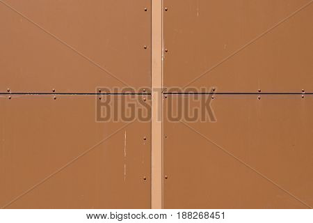 close-up of a brown wooden panelling, seen in cologne, germany