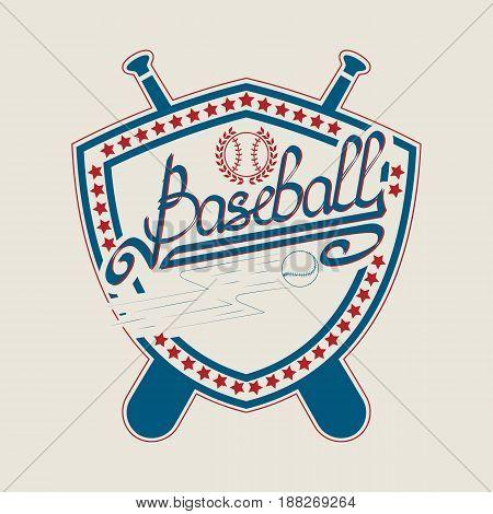 Baseball  Typography Graphics. Sport T-shirt Design. Print for sportswear apparel. Vector.