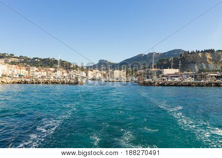 Cassis Port Day View, France