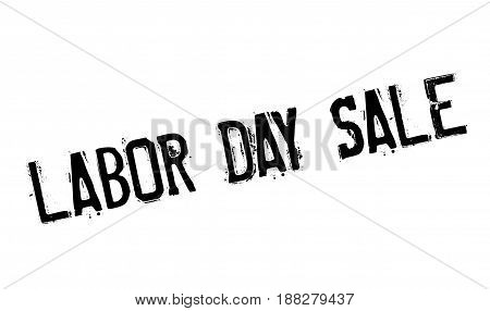 Labor Day Sale rubber stamp. Grunge design with dust scratches. Effects can be easily removed for a clean, crisp look. Color is easily changed.