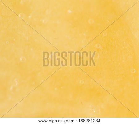 A banana pulp. Super Macro . A photo