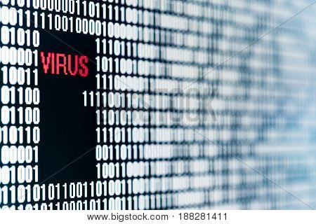 Virus In A Backdoor Of A Sequence Of Bit Figuring A Software