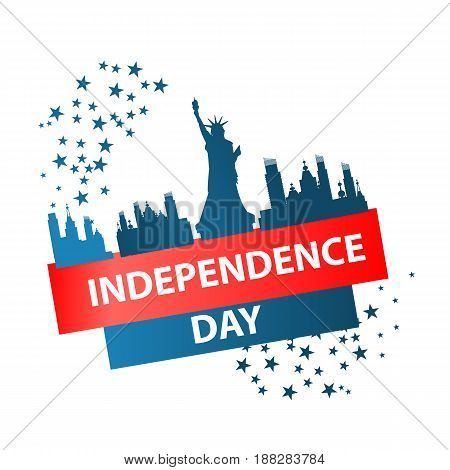 Independence Day Usa, Vector. Illustration Design.
