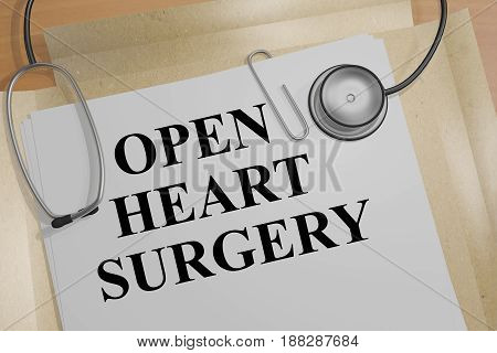 Open Heart Surgery - Health Concept