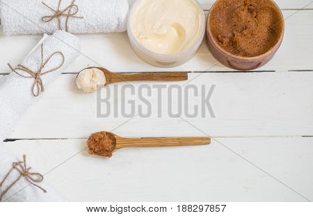 Spa Composition For Body Care