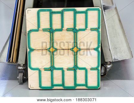 Die Cut Mold Wooden Board Cutter