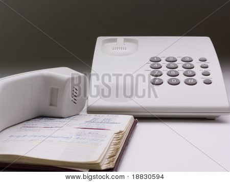 Telephone and directory