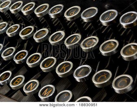 Machine for writing