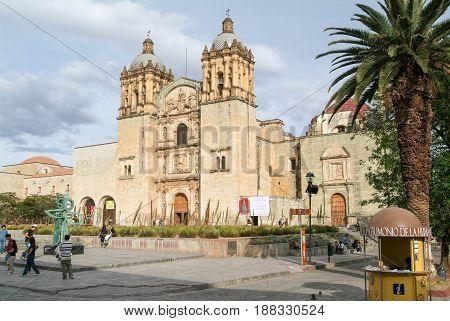 Church Of Santo Domingo De Guzman On Oaxaca