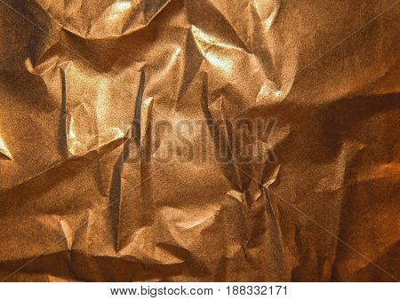 The bronze shinny abstract copper paper background