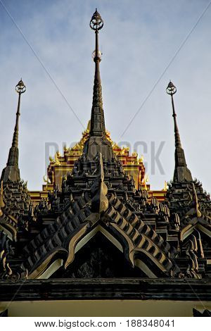 Asia  Thailand    Temple Abstract        And  Colors Religion      Mosaic