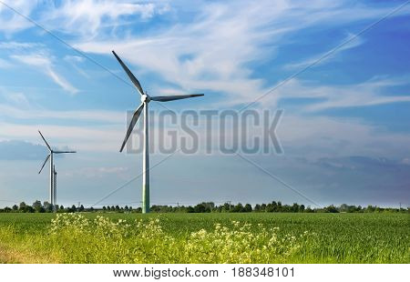 Production of alternative energy, and wind generators