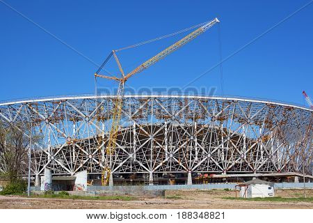 Construction Of Stadium