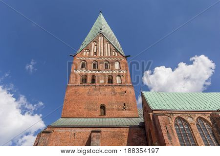 Tower Of The St. Johannis Church Of Luneburg