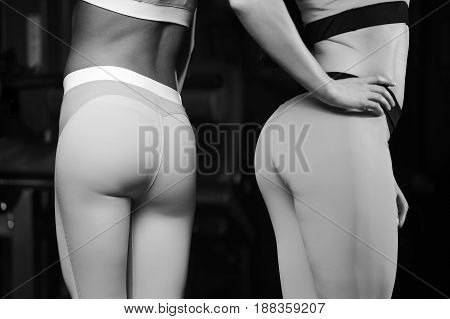 Pretty Fitness Sexy Model Luxury Ass Fat Burning Concept