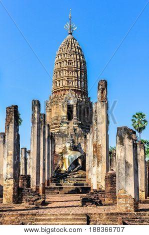 Wat Phra Si Ratana Mahathat In Si Satchanalai, Thailand