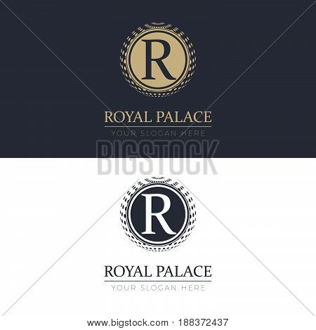 Royal Palace Logo. Logo template for your business