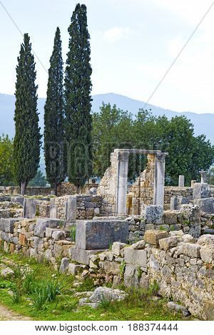 Volubilis In Morocco Africa The Old Cypress