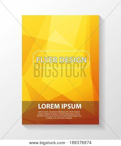 Business Vector Template Is Used For Log, Brochure, Reports, Title Page, Banner, Book Form, Advertis