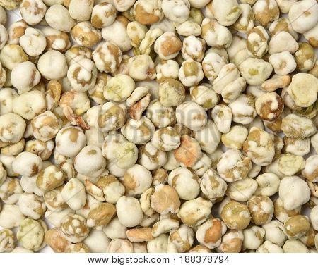 Wasabi Peas Background
