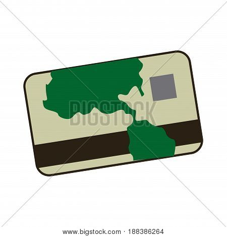 cartoon credit card banking finance image vector illustration