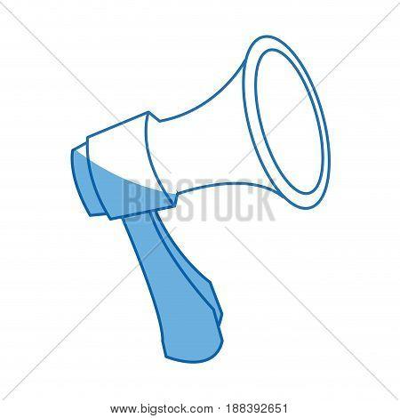 megaphone loudspeaker alert announce icon vector illustration