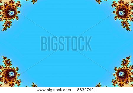 Decorative fancy ornate symmetric card texture background