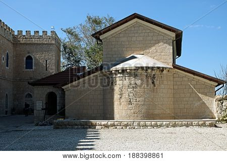 Church of St. Stephen the First Martyr in the monastery Beit Jamal Israel