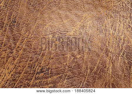 Brown old leather textured background fashion design wallpaper