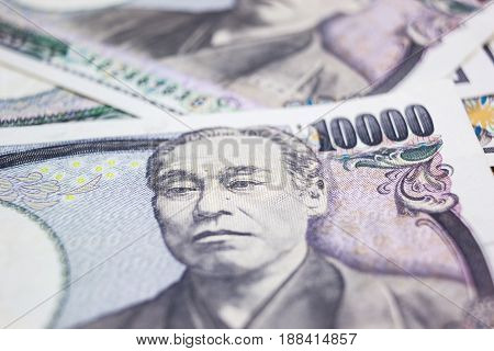 background of the money ten thousand yen banknote front side.