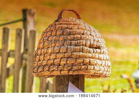 Age beehive beehives of straw called basket Beekeeping is an ancient tradition.