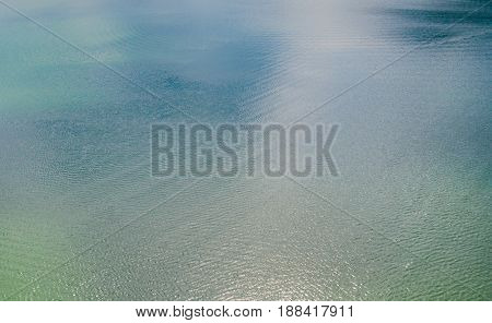 Soft colored pastel abstract ripple of water in dam concept for background texture.