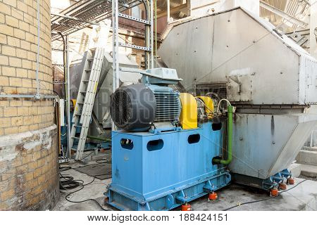 Big new Fumes ventilation system - Poland.