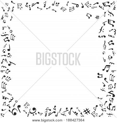 Music Notes Frame