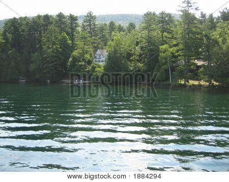 Quiet Cove On Lake George, New York