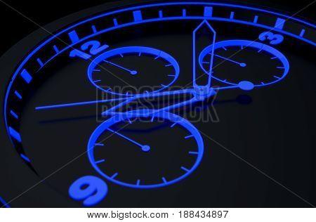 Neon Watch Face