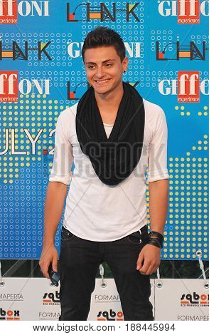 Giffoni Valle Piana Sa Italy - July 18 2011 : Virginio at Giffoni Film Festival 2011 - on July 18 2011 in Giffoni Valle Piana Italy
