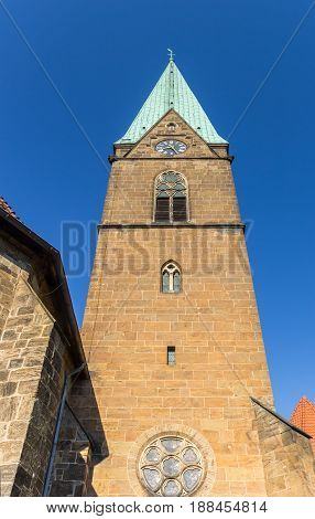 Tower Of The St. Simeonis Church Of Minden