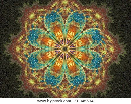 abstract fractal background created with apophysis, this is a large file showing many details when viewed at full size