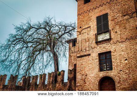 Rocca Sanvitale Castle In Fontanellato