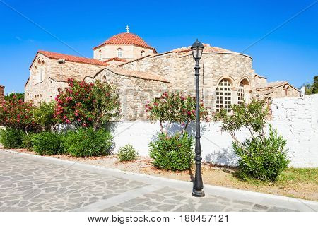 Panagia Ekatontapyliani Church, Paros