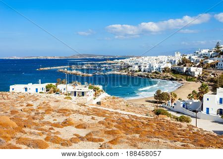 Paros Island Aerial View