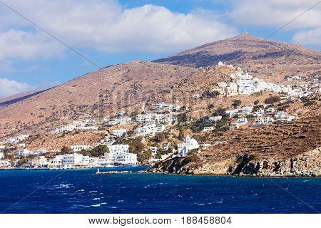 Ios Island In Greece